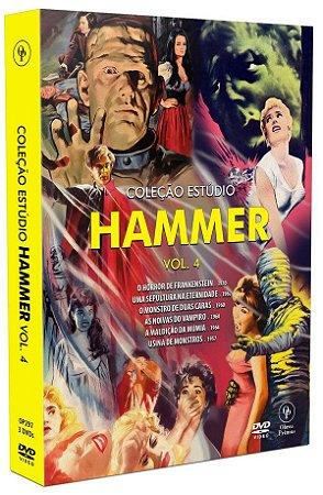 PRÉ-VENDA Coleção Estúdio Hammer Vol. 4