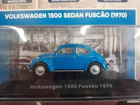 VOLKSWAGEN COLECAO - 1500 FUSCAO SEDAN 1970 ED 1