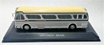 COLECIONÁVEL AUTOBUSES DEL MUNDO GM COACH - BRASIL C/ FASCÍCULO