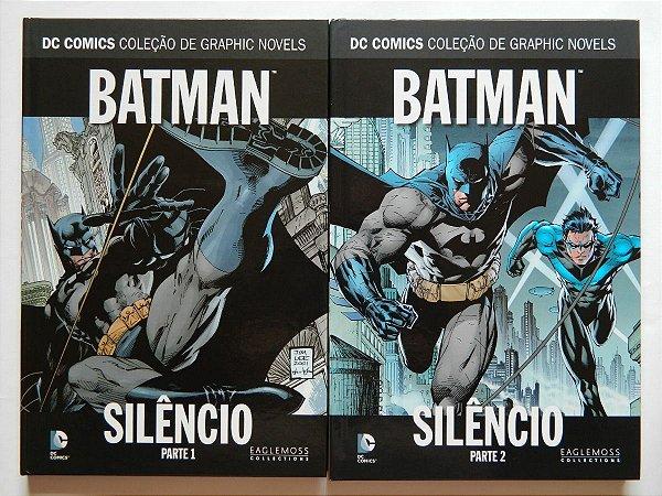 kit batman silencio vol 1 e 2