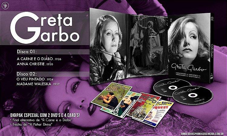 Greta Garbo [Digispak com 2 DVD's]