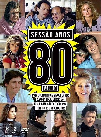 Sessão Anos 80 Vol. 10 [Digipak com 2 DVD's