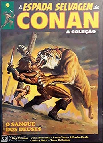 A espada selvagem de conan a coleção vol 9
