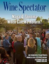 Wine spectator de junho de 2020