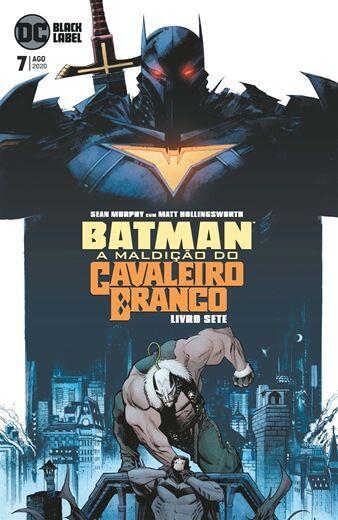 Batman a maldição do cavaleiro branco ed 7