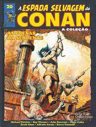 Coleção a espada selvagem de conan ed 20