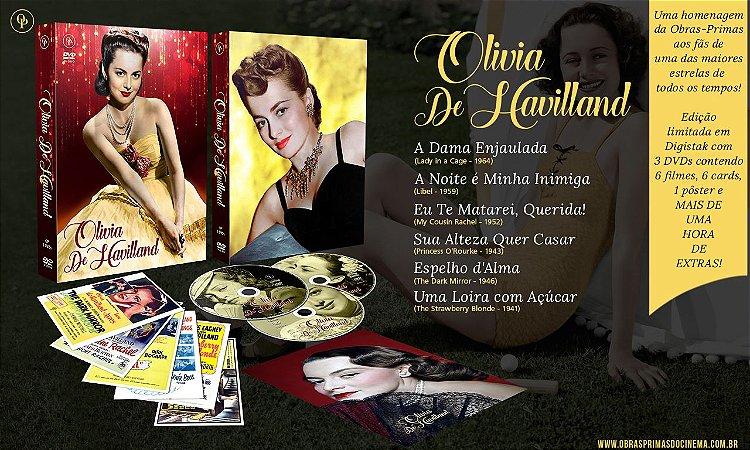 Olivia de Havilland [Digistak com 3 DVD's]