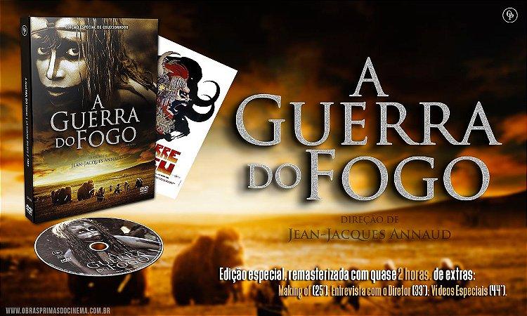 Pré-venda A Guerra do Fogo - Edição Especial de