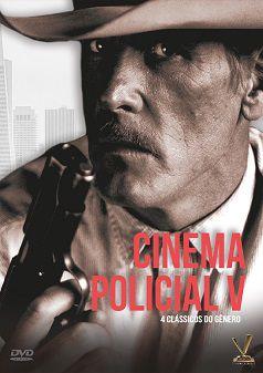 CINEMA POLICIAL vol. 5  EDIÇÃO DEFINITIVA LIMITADA COM 4 CARDs  (Caixa com 02 DVDs)