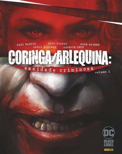 Coringa/arlequina sanidade criminosa ed 1