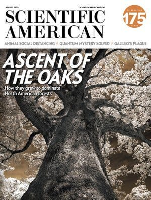 scientific american de agosto de 2020