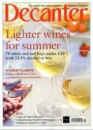 DECANTER SEPTEMBER 2020