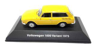 Coleção volkswagen - volkswagen 1600 variant 1975     ed 11