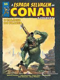 A espada selvagem de conan - coleção ed 25
