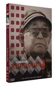 O CINEMA DE KUROSAWA vol. 3 - Ed. Limitada com 6 Cards (3 DVDs)