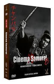 CINEMA SAMURAI vol. 8 - MIYAMOTO MUSASHI - A SÉRIE COMPLETA  Ed. Limitada com 6 Cards (4 DVDs)