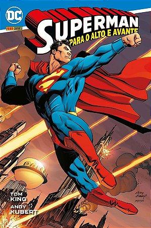 SUPERMAN PARA O ALTO E AVANTE PANINI