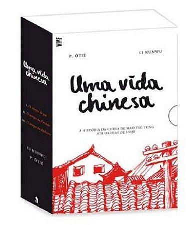 BOX UMA VIDA CHINESA - 3 VOLUMES - WMF MARTINS