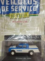 Colecionável Mitsubishi L200 - Pericia - veículos de serviço - Edição 64