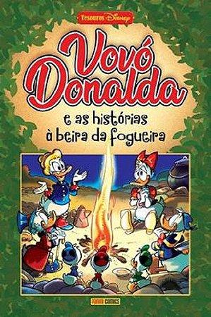 VOVO DONALDA E AS HISTORIAS A BEIRA DA FOGUEIRA - PANINI