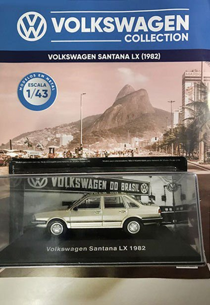 VOLKSWAGEM COLLECTION   VOL 16 santana lx 1982