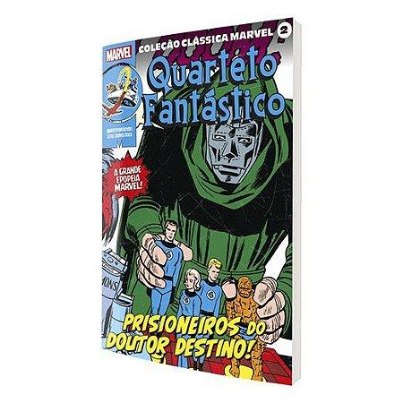 Coleção Clássica Marvel Vol.02 - Quarteto Fantástico Vol.01
