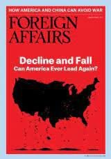 FOREIGN AFFAIRS MARCH APRIL  2021