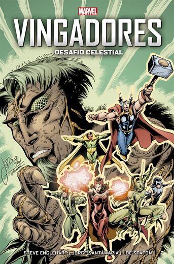 Vingadores: Desafio Celestial Marvel Vintage