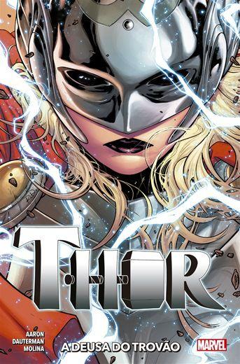Thor: A Deusa Do Trovão Nova Marvel Deluxe