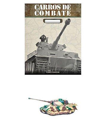 carros de combate ENTREGA Nº 4 FASCÍCULO + MINIATURA: PZ.KPFW. VI TIGER II AUSF. B (SD.KFZ. 182), SCH. SS-PZ.ABT. 501