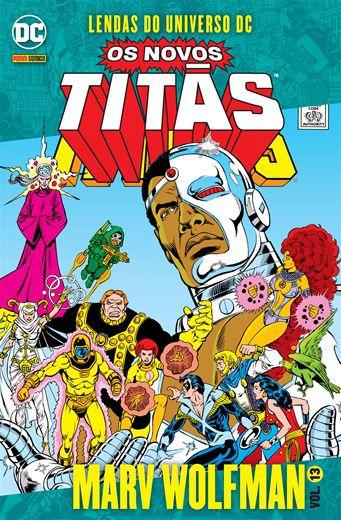 Os Novos Titãs Vol. 13 Lendas do Universo DC