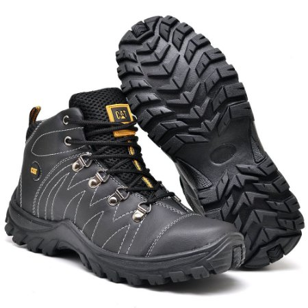Bota Caterpillar Adventure Eco - Preta