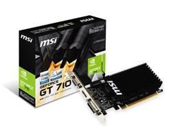 PLACA DE VIDEO MSI GEFORCE GT 710 2GB DDR3 64BITS - GT 710 2GD3H LP