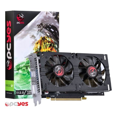 PLACA DE VIDEO NVIDIA GEFORCE 9800GT 1GB PCYES 256 BITS