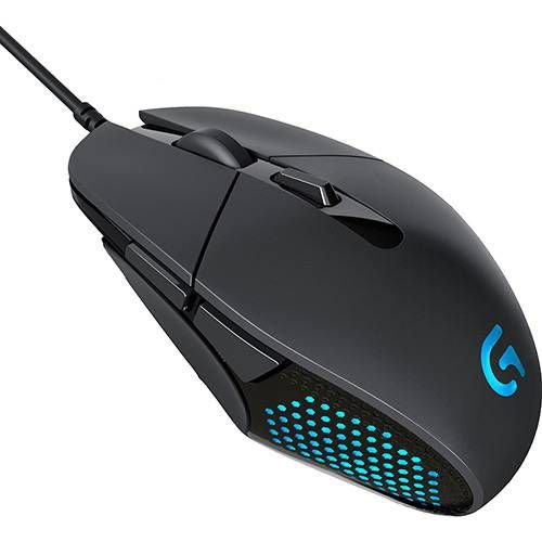 Mouse Gamer G302 Daedalus Prime 4.000 DPI PC - Logitech