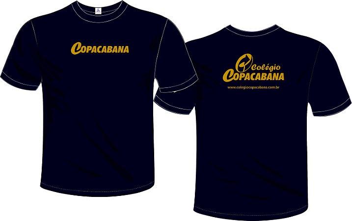 Camiseta Azul c/ Ouro - Turno da Manhã