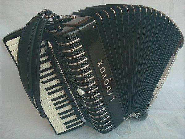Acordeon 120 baixos Lidovox polifônica impecável (Voz binci)
