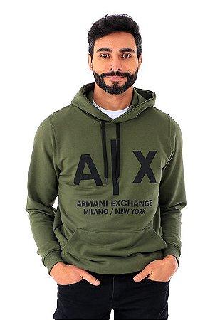 Moletom Armani Exchange Militar