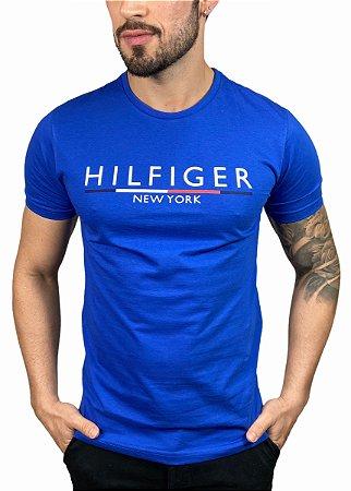 Camiseta Tommy Hilfiger Azul Royal