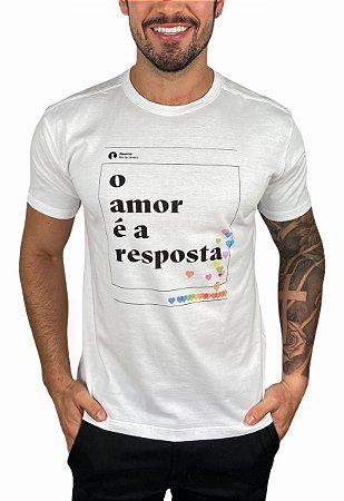 Camiseta Reserva O Amor é a Resposta