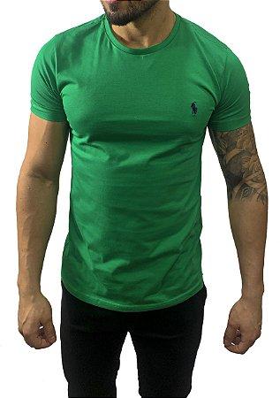 Camiseta Ralph Lauren Básica Verde
