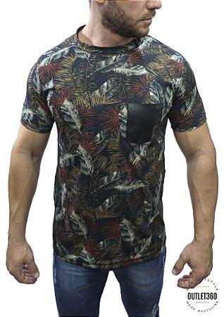 Camiseta Booq FullPrint Folhagem