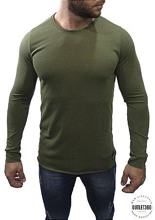 Tricô Booq Verde Militar