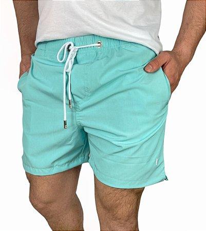 Shorts Beach Mescla Candy Green