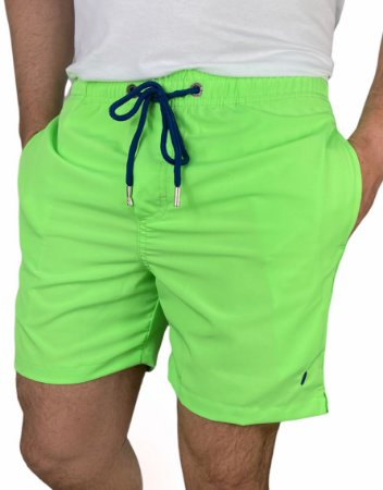 Shorts Beach Verde Neon