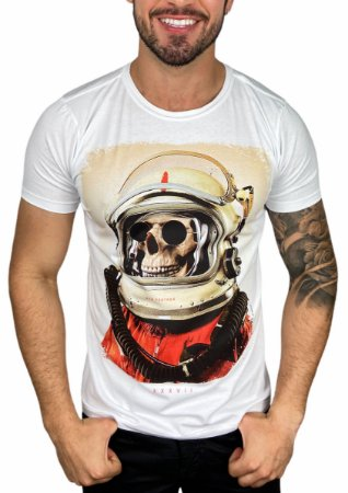 Camiseta Red Feather Viajante do Espaço