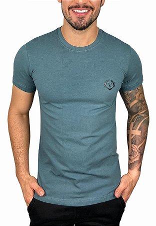 Camiseta VersatiOld Small Logo Chumbo