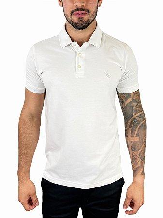 Camisa Polo Piquet Reserva Off White