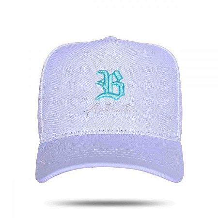 Boné Snapback Authentic Blue White BCLK