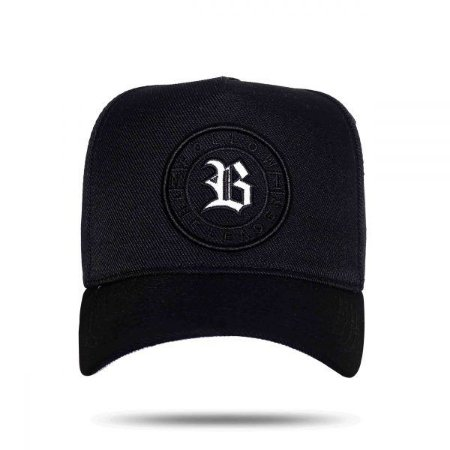 Boné Snapback Follow Black Reflective BCLK